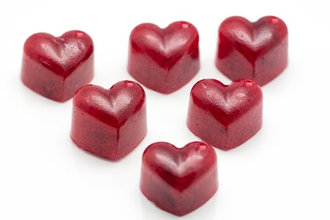 Cranberry Marmalade Candy / Tranbärsmarmeladgodis