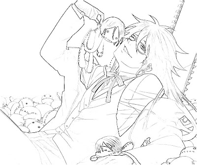 Grell Sutcliff Coloring Pages