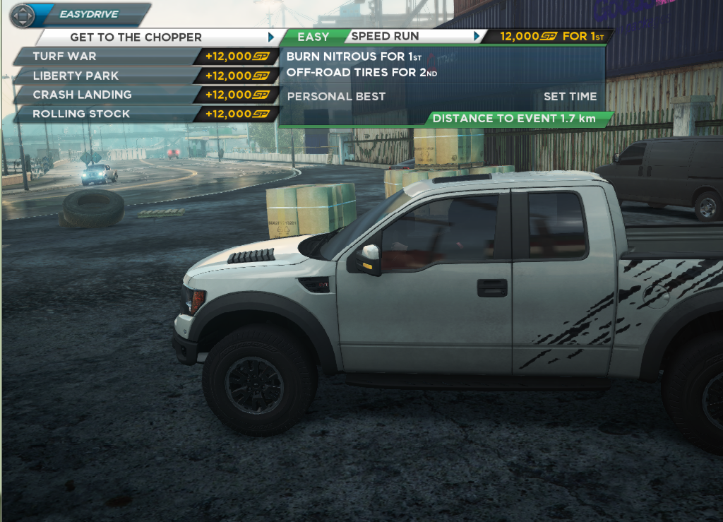 Ford F  Svt Raptor Location In Need For Speed Most Wanted Nfsmw