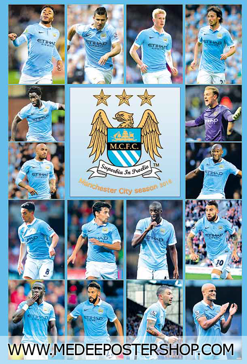 MANCHESTER CITY Poster - 88086