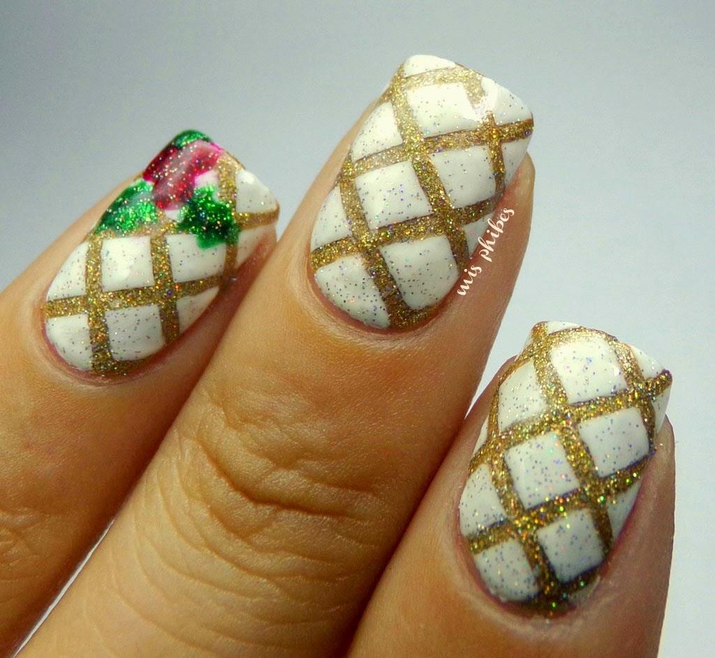 Christmas Nail Art Nail art Navidad