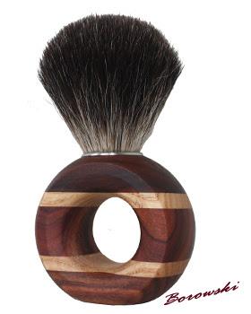 Pędzel do golenia na mokro - palisander + jesion