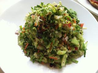 The Super Salad at Petros Manhattan Beach
