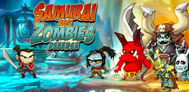 SAMURAI vs ZOMBIES DEFENSE v3.4.0 Mod Apk