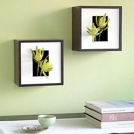 Margarete arquitetando flores pelas paredes - Como colgar un cuadro sin taladrar ...