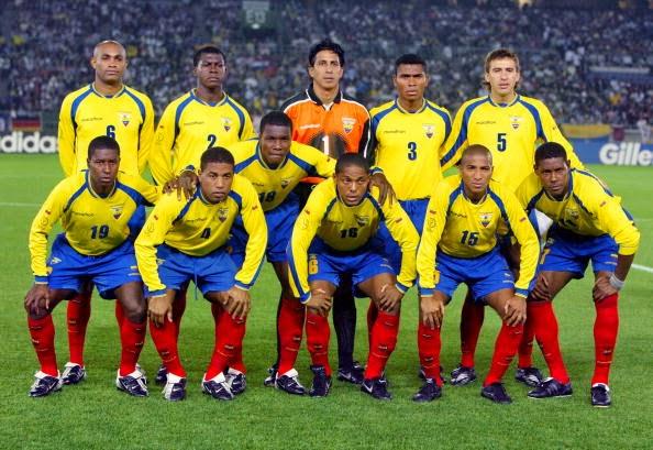 Ecuador National Football Team Zoom Background 4