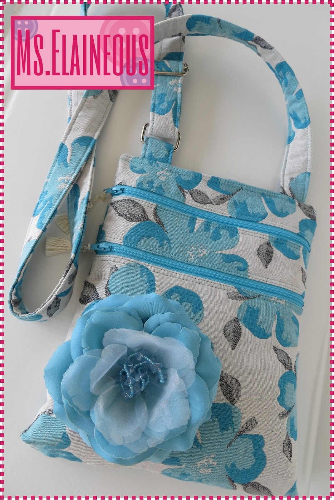 Cross Body Bag Pattern Custom Inspiration Design