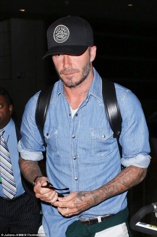 Wear It Like Beckham David Beckham Lax