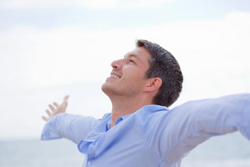 كيف تحسن مزاجك وتشعر بالسعادة..فى 30 دقيقة فقط  - رجل سعيد مبسوط فرحان - happy man guy