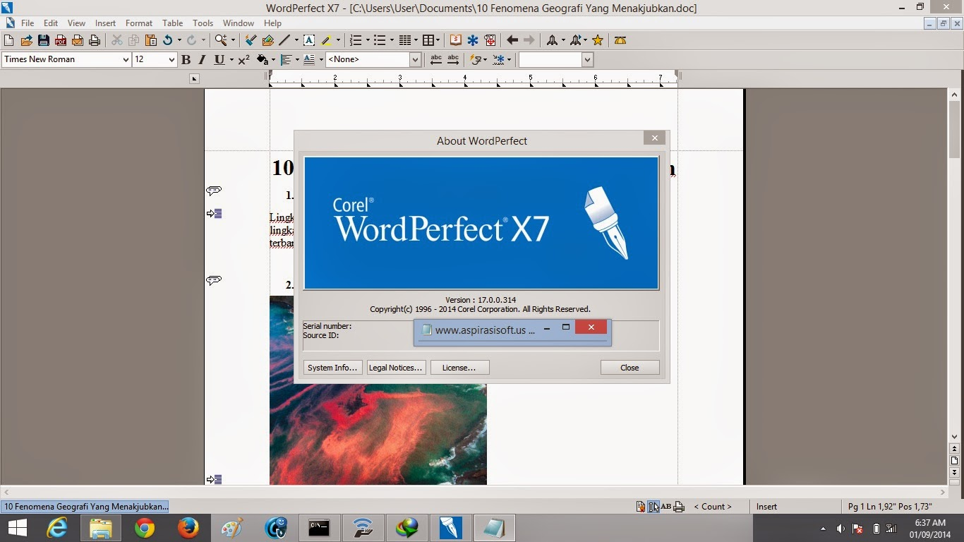 Corel WordPerfect Office X7 Professional Full Keygen - Uppit