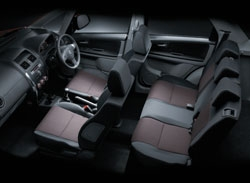 interior x-over terbaru