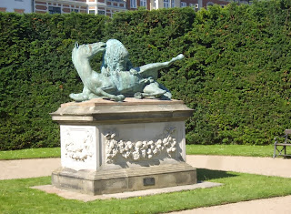 Скульптура «Lion and Horse» в Kongens Have