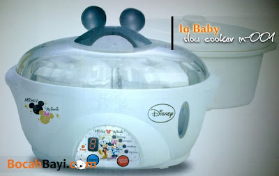 Iq Baby Slow Cooker 2 in 1 Multi Function M-001