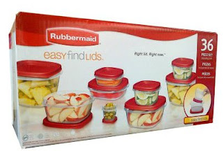 Sam's Club: Rubbermaid Food Storage Set Just $9.98 Shipped