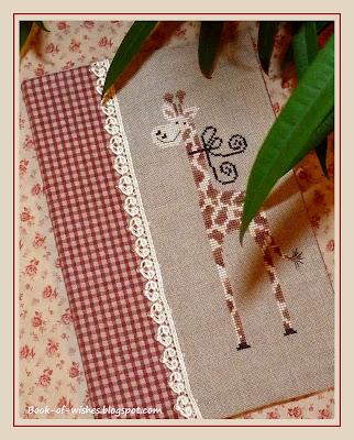 вышивка Gigi la girafe Tralala