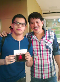 Ivan with Brillante Mendoza (2009 Cannes Film Festival Best Director)