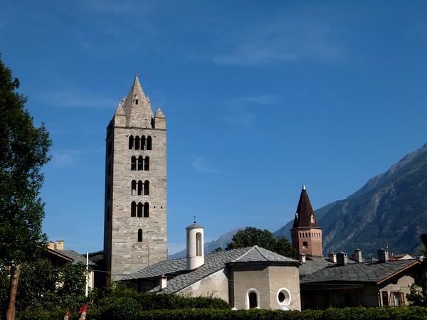 Aoste Aosta Italie complexe sant'orso