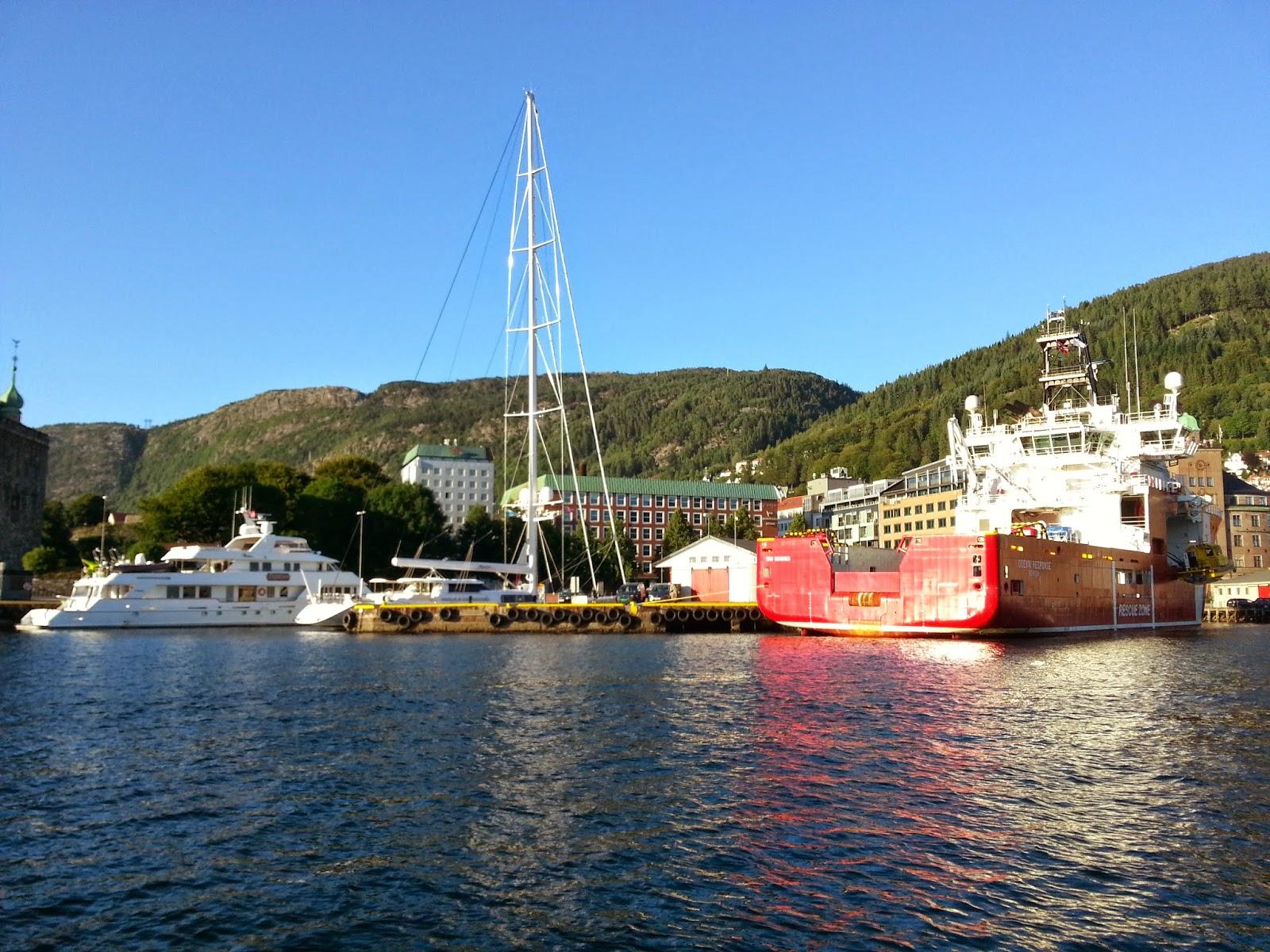 Ships in Bergen