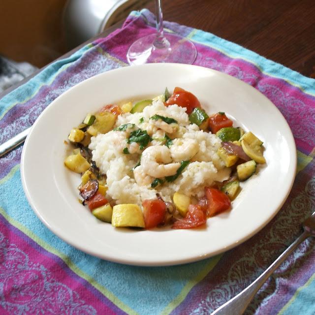 shrimp scampi: simplelivingeating.com