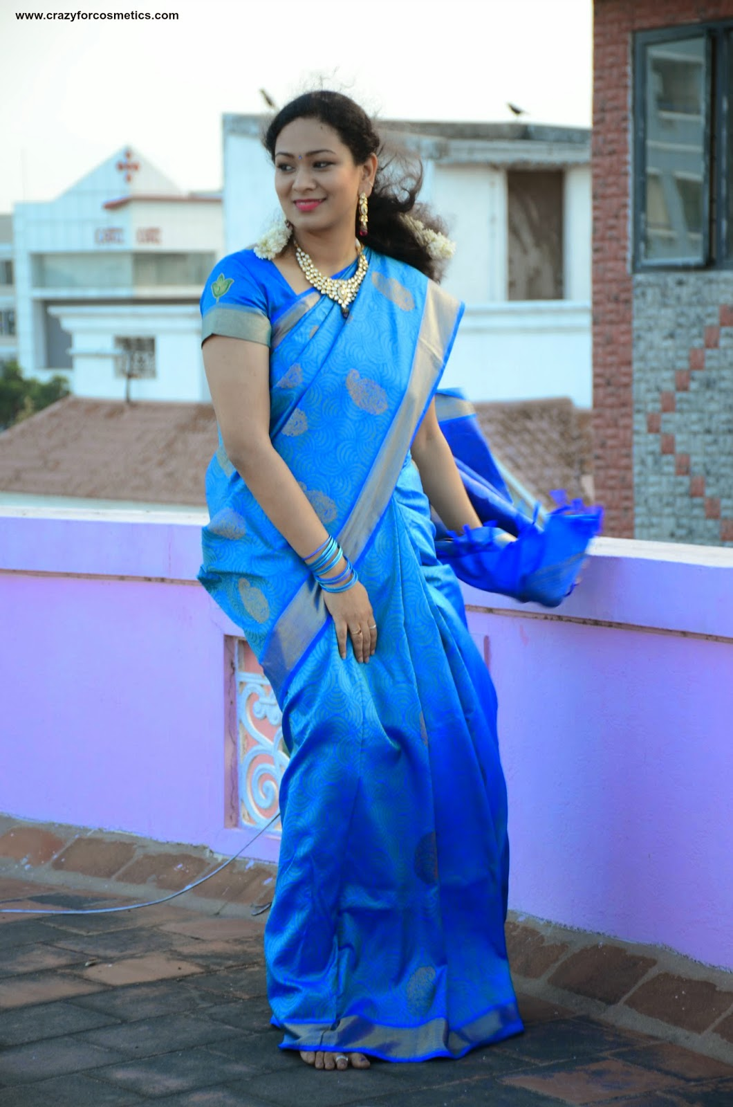 Silk saree from Kanchipuram prakash Silks