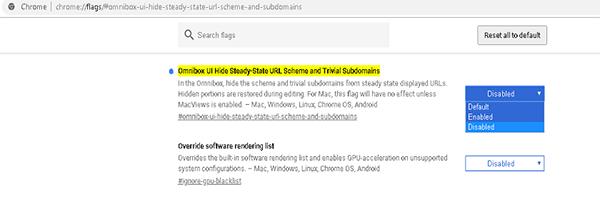 كيفية تعطيل اختصارات URL في النسخة الجديدة من جوجل كروم Untitled-3.png