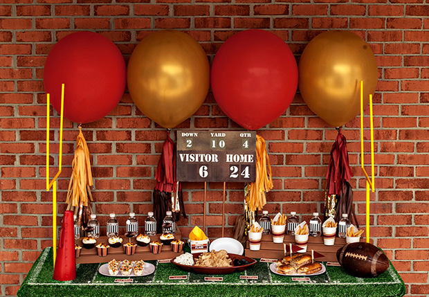 super bowl party decorating tips with super bowl decor with superbowl decorations & Superbowl Decorations. Creative Super Bowl Party Ideas With ...