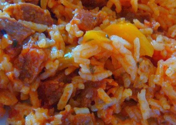arroz a la catalan