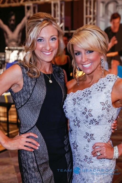 Chalene Johnson and Melanie Mitro at the Elite Event Summit 2014