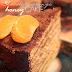 Chocolate-orange nohey cake
