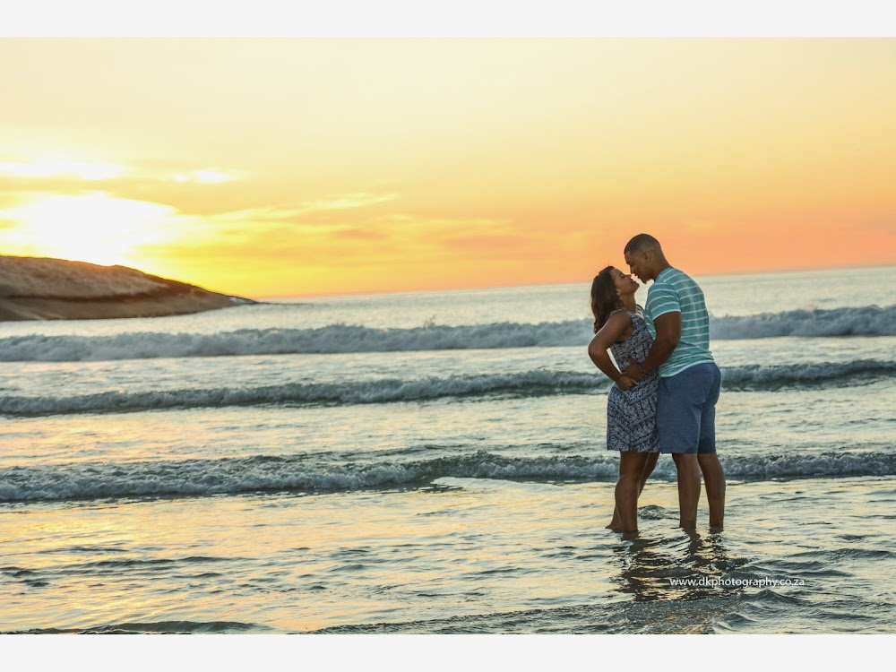 DK Photography LASTWEB-273 Robyn & Angelo's Engagement Shoot on Llandudno Beach { Windhoek to Cape Town }  Cape Town Wedding photographer