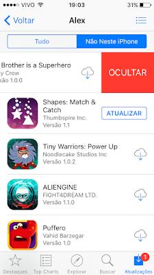 ocultar apps - iOS 9