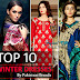 Top 10 Winter Dresses By Pakistani Brands | Top 10 Pakistani Brands