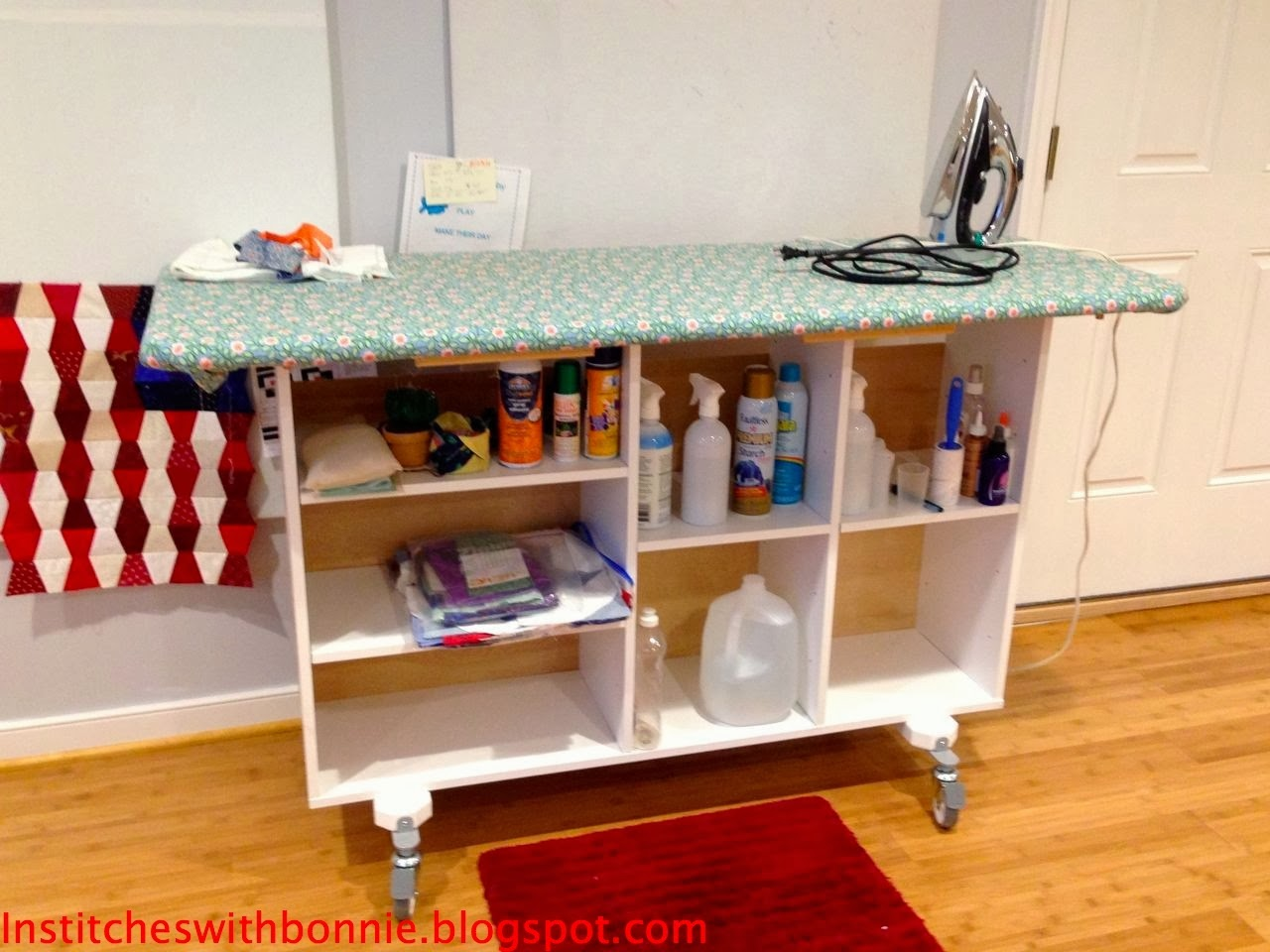 Institches with bonnie hot stuff - Ironing board for small spaces decor ...