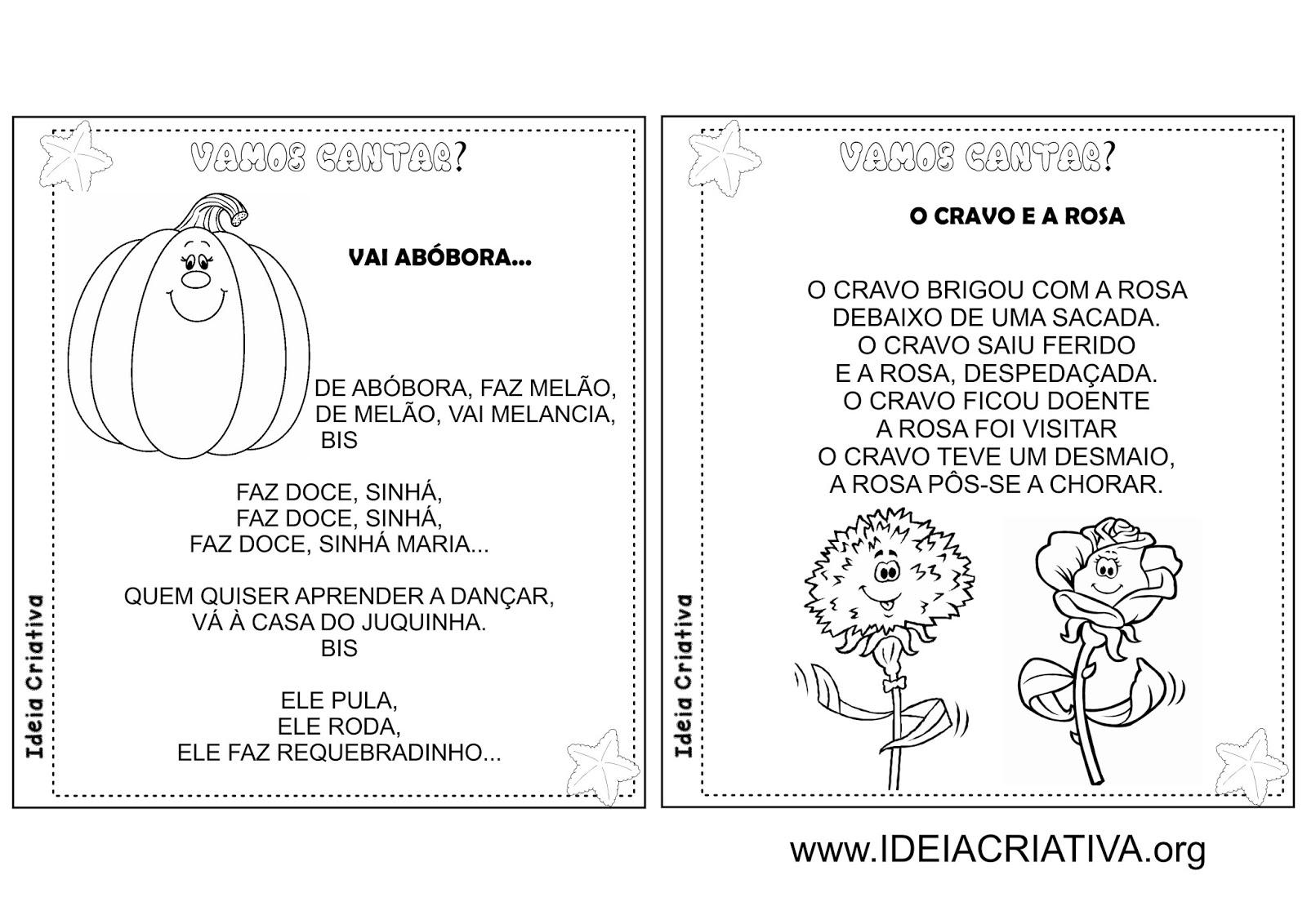 Amado Álbum Ilustrado Cantigas de Roda Folclore | Ideia Criativa - Gi  GJ71