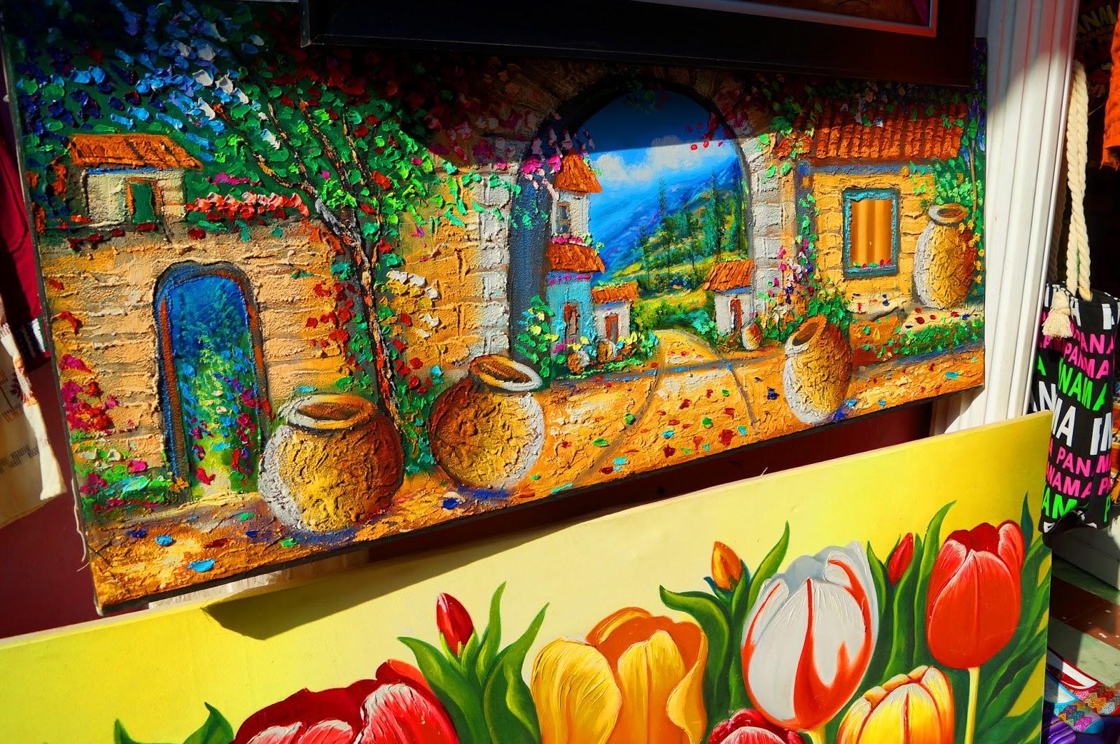 Colorful Panamanian Art
