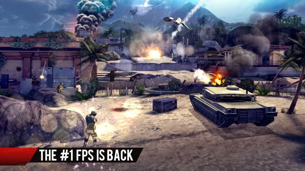 Modern Combat 4 Zero Hour 1.1.7c game