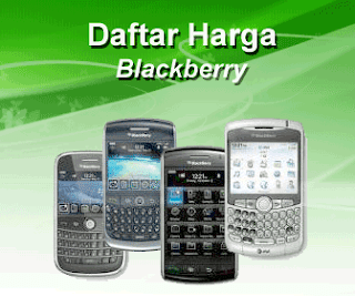 Daftar Harga BlackBerry Terbaru April 2012 Update