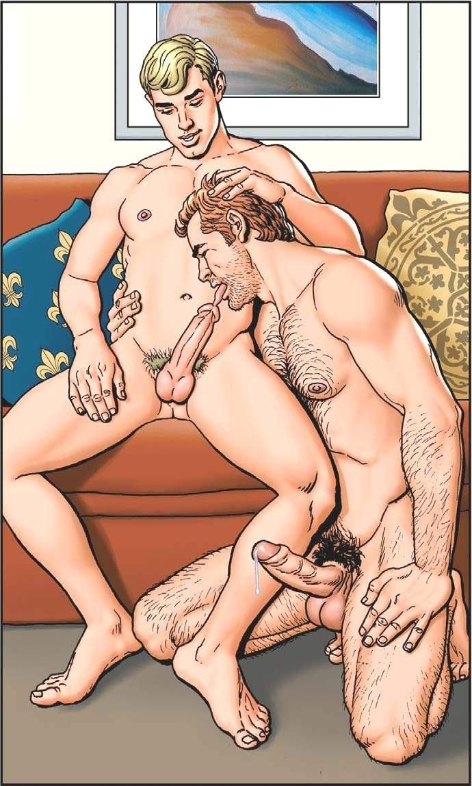 Комиксы про секс геев