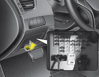 cars & fuses: hyundai elantra md 2010-2014 - fuses hyundai elantra fuse box 2012 2010 elantra fuse box