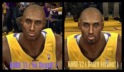 NBA 2K14 Kobe Bryant Cyberface