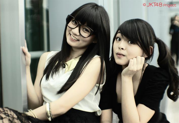 Stella JKT48 dan Jeje JKT48 at wanra fintage trans7
