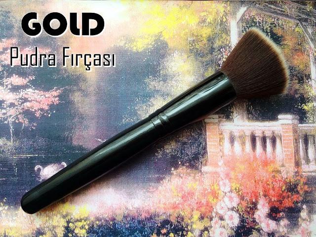 Gold Pudra Fırçası- Gold Marka Makyaj Fırçaları