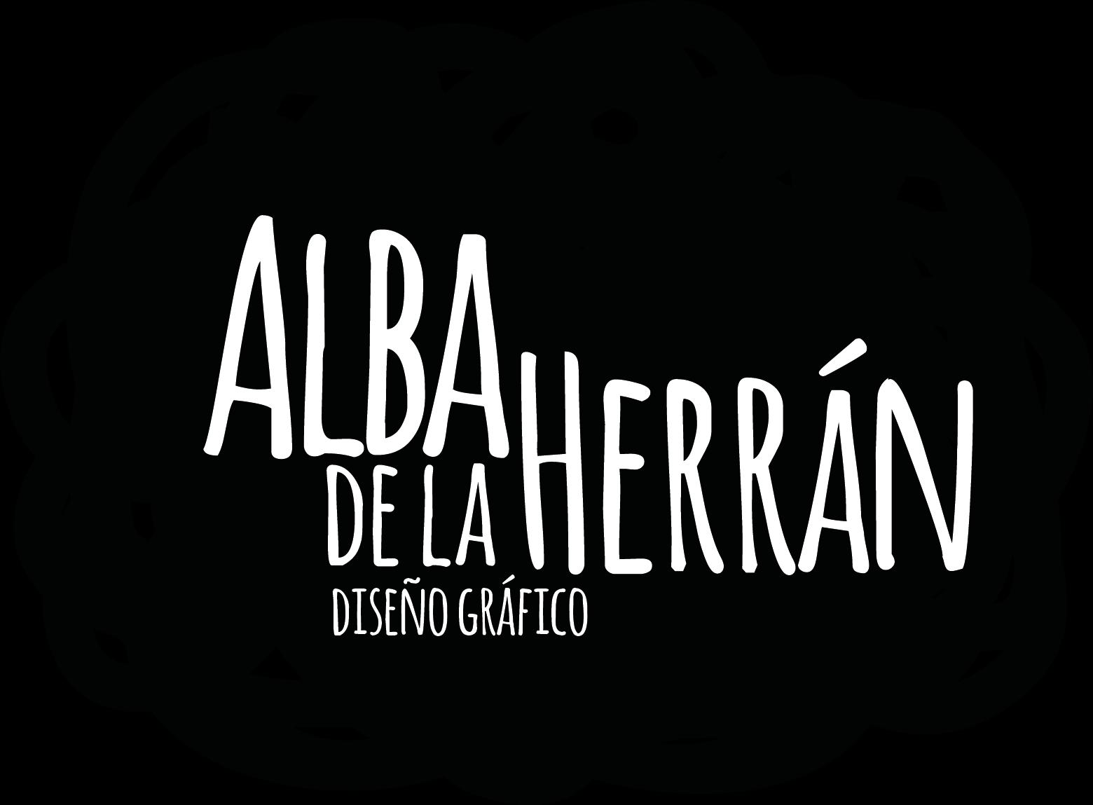 Logotipo Alba de la Herrán