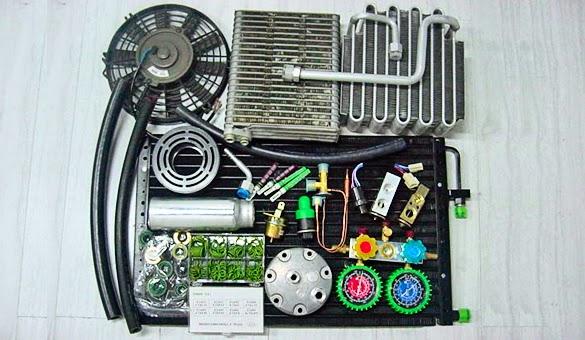 Fungsi dan Kerusakan Komponen Sirkulasi AC Mobil Tips Mengenali Kerusakan Pada Komponen Sirkulasi AC Mobil
