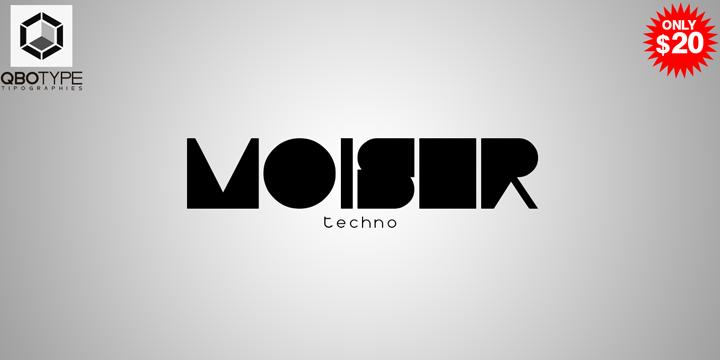 Typo Moiser techno