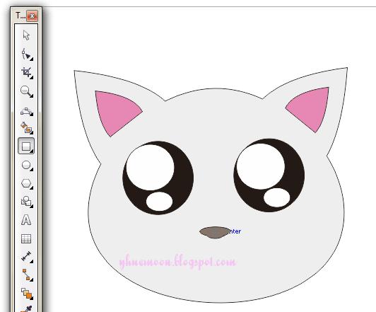 Design Graphic Cara Membuat Kucing Dengan Mudah