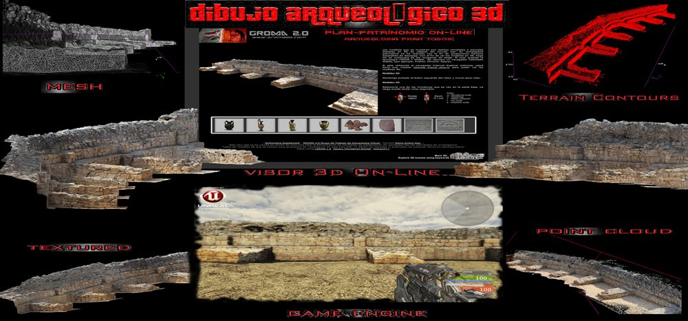 Dibujo Arqueológico 3D