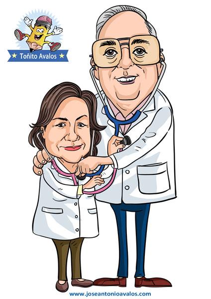 Toñito Avalos Ilustrador: CARICATURAS DE FAMILIAS caricaturas ...