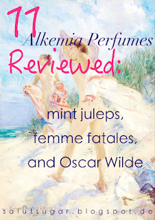11 Alkemia Perfumes Reviewed: mint juleps, femme fatales, and Oscar Wilde