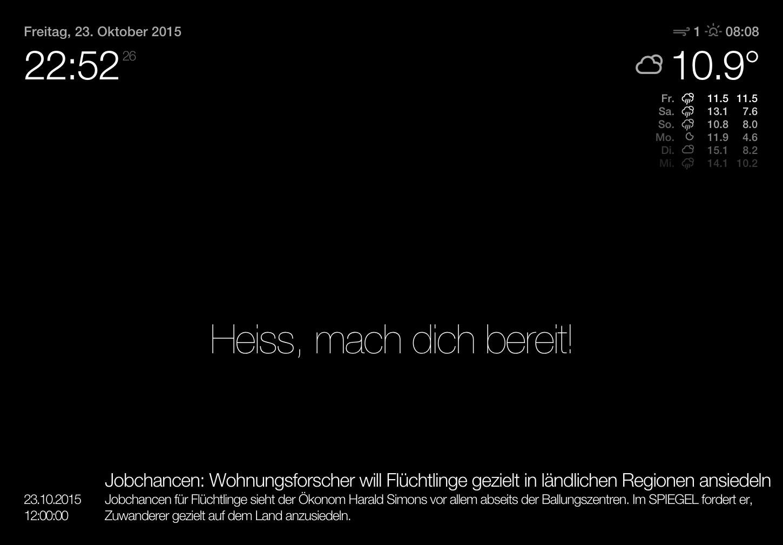 Handverdrahtet: 2015